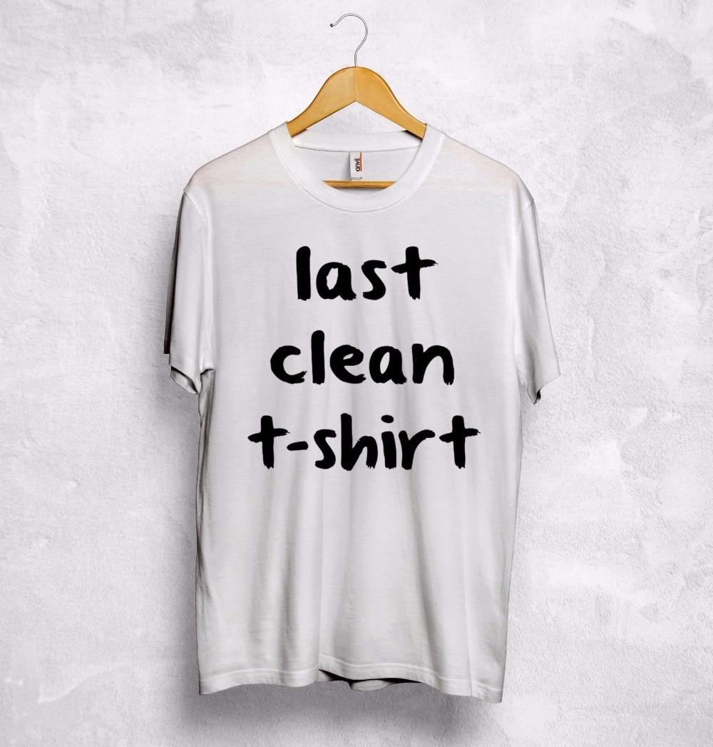 Utolsó tiszta póló Vicces szöveg szarkazmás Cara Delevingne - Női ruházat - Fénykép 1