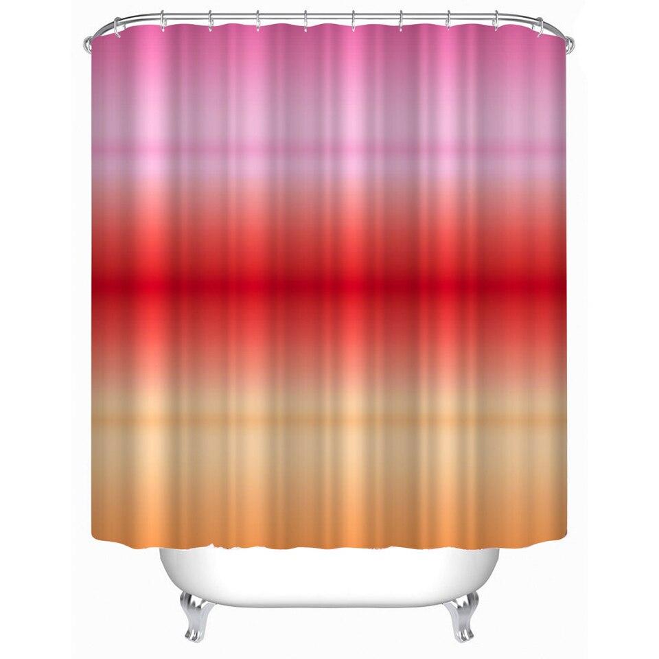 Svetanya rainbow Imprimir Cortinas De Ducha Productos de Baño Decoración Cuarto