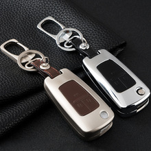 Zinc alloy Car Key Cover Case For Chevrolet Cruze Aveo Trax Camaro Equinox Malibu Sonic Spark Volt For Opel ASTRA J Corsa Antara