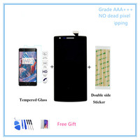 100 Tested Perfect LCD For Oneplus One LCD Display Touch Screen Sensor For Oneplus One 1