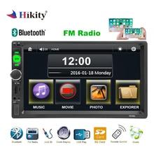 """Hikity Autoradio 2 din Auto Radio Navigazione GPS 7 """"HD Multimedia Car MP5 Lettore Bluetooth Radio di Sostegno Videocamera vista posteriore 7010g"""