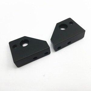Image 5 - 22mm hole מרחק AM8/ Anet A8 3D מדפסת שחול גרסה שחור anodized Z ציר צעד מנוע הר ו למעלה מוט קיט מחזיק
