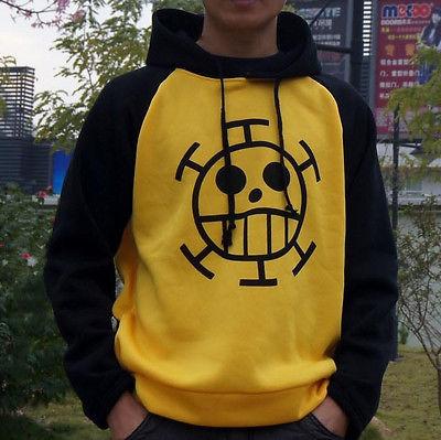 One Piece Trafalgar Law Clothes Sweater Costume Hoodie