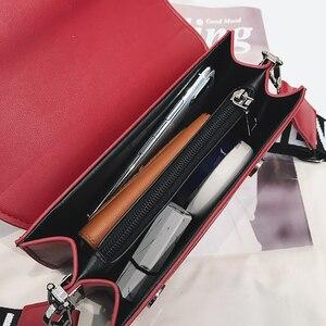 Image 5 - 2019 yeni mini çanta kadın moda ins ultra yangın retro geniş omuz askısı askılı çanta çanta basit stil Crossbody çanta