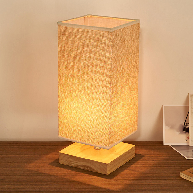 Table bedside lamps japan style lamp shades square led study night table bedside lamps japan style lamp shades square led study night lamps abajur para quarto for living room bedroom t12 in led table lamps from lights aloadofball Gallery