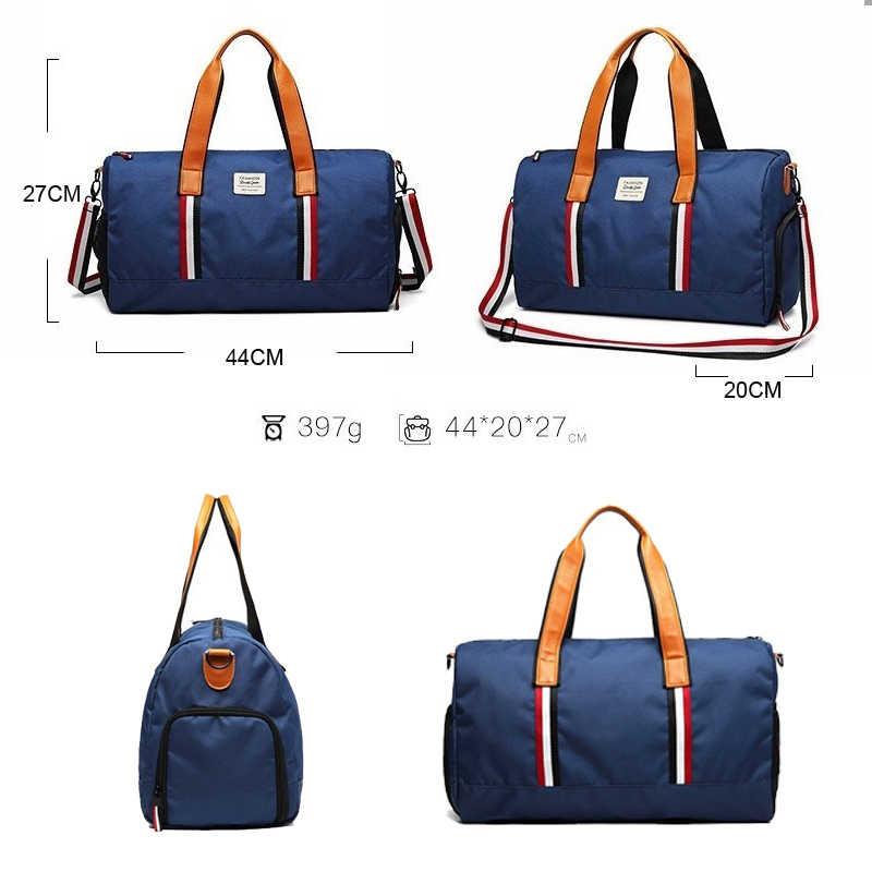 2019 дорожная сумка большой емкости мужская ручная сумка женская холщовая большая сумка на плечо многофункциональные водонепроницаемые сумки DXH