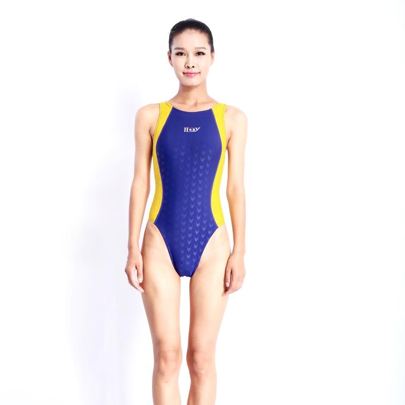 HBXY yüksək keyfiyyətli bir parça yarış müsabiqəsi suya - İdman geyimləri və aksesuarları - Fotoqrafiya 1