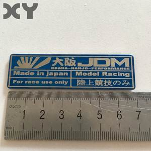 Stickers Automobiles Jdm Motorcycle Japanese-Style Interior Stainless-Steel Metal Racing