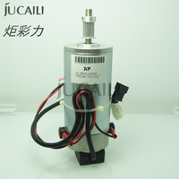 Jucaili Hohe qualität Eco lösungsmittel drucker Mimaki JV3 JV22 DC servo motor MK UJF3042 wagen motor motor 1pc