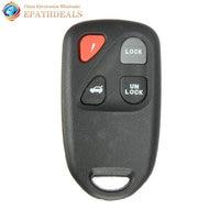 4 Buttons 313 8MHz Keyless Entry Remote Control Car Key Shell Fob Auto Car Keys Case