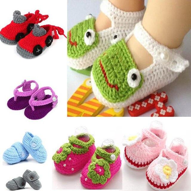 Tienda Online Zapatos para recién nacido niños punto sandalias para ...