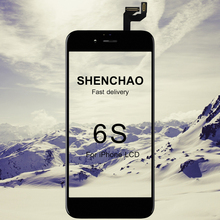 10PCS/LOT Grade Shenchao For iPhone 6S LCD With 3D Force Touch Screen Digitizer Assembly Display No Dead Pixel