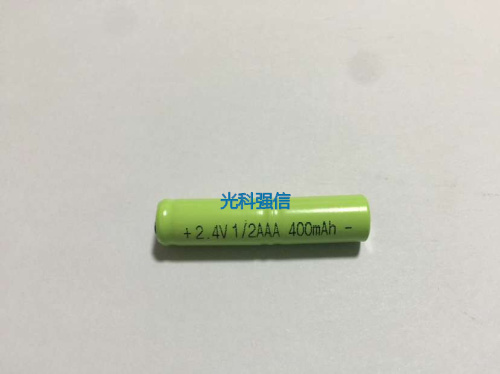 2.4v li po li-ion batteries NI-MH battery 2 4 v lipo li ion rechargeable lithium-ion for 2.4V 1/2AAA 400MAH NI-MH image
