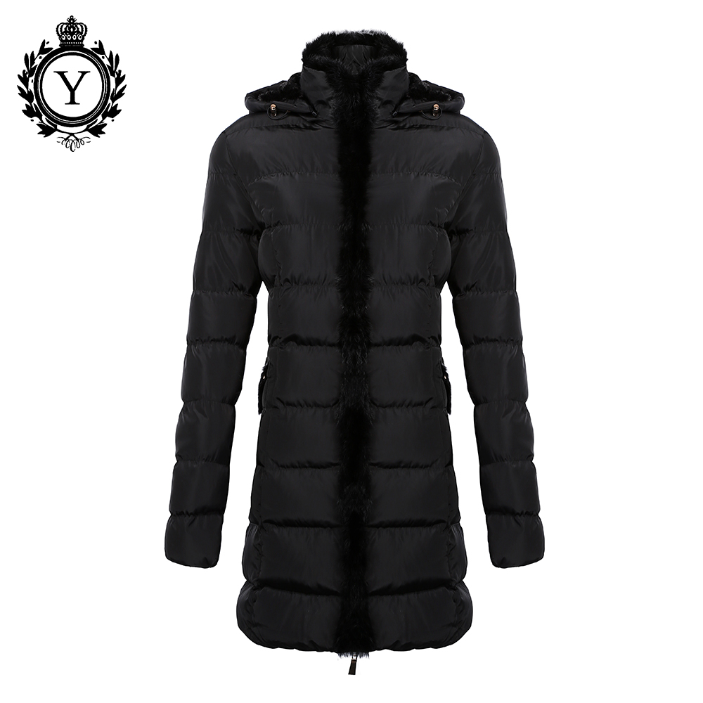 ФОТО COUTUDI Parka For Women Winter Coat and jackets Rabbit Fur Hoody Quality Clothing Outwear Plus Size Long Slim Ukraine Style Coat