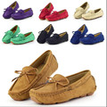 Красочные размер 23 ~ 37 дети мокасины ребенок shoes girls shoes