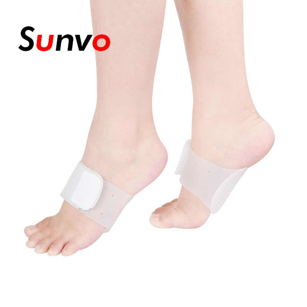 amazing selection clearance prices stable quality Sunvo Silicone Gel Arch Supports Orthotic Pad for Flat Foot ...