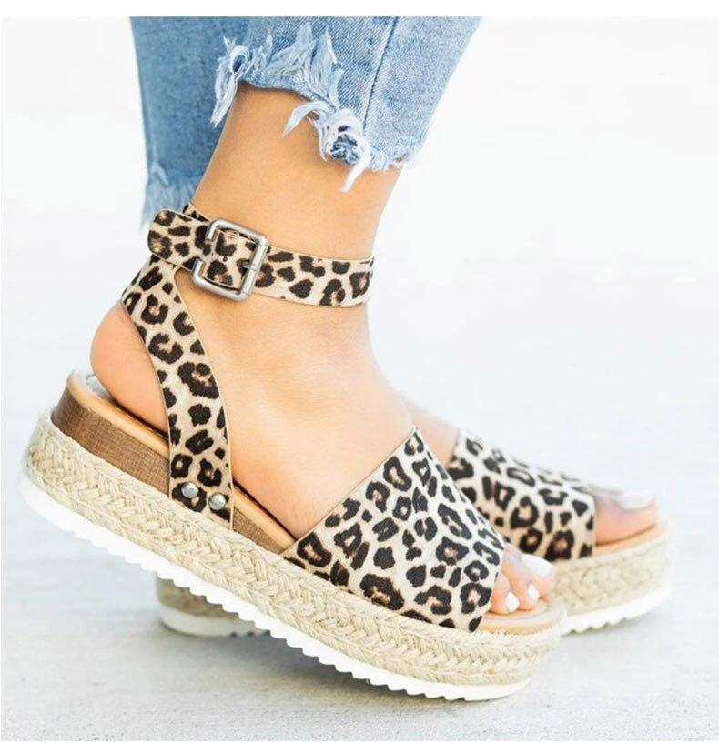 Women High Heels Sandals Summer Shoes Flip Flop Chaussures Femme Platform Sandals 29
