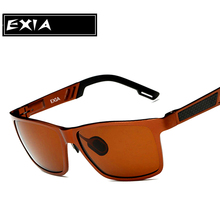 Polarized Brown Lenses RX Sun shades Optical Males's Spectacle EXIA OPTICAL KD-503 Collection