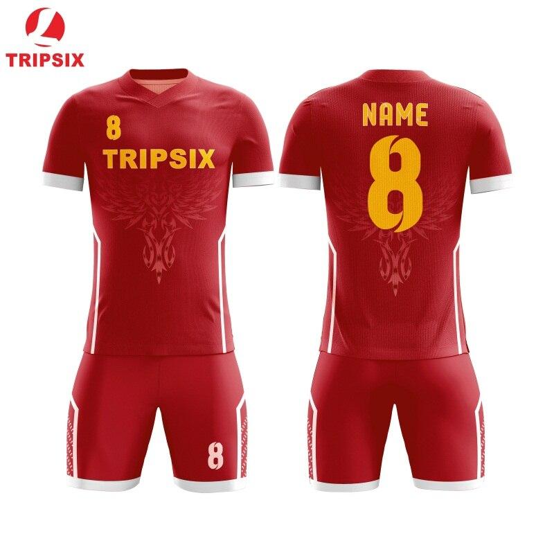 Ster Patroon Sublimatie Persoonlijke Naam En Nummer Voetbal Jersey - 3