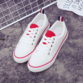 Free shipping summer new flat lace casual sneakers to help low canvas shoes