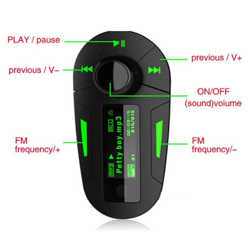 Car Kit MP3 Player FM Transmit FM Transmitter Radio Modulator USB SD Remote Control Player Car Kit MP3 Player Wireless
