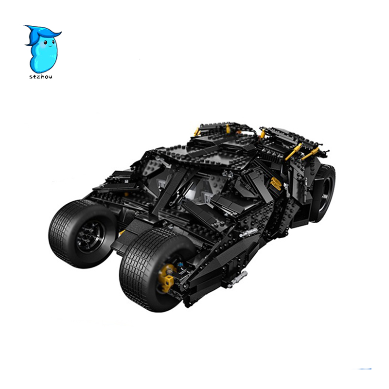 07060 1969pcs Genuine Super Hero Movie Series The Batman Armored Chariot Set Educational Building Block Brick Boy Toys Gifts lepin 07060 super series heroes movie the batman armored chariot set diy model batmobile building blocks bricks children toys
