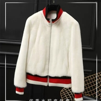 Natural Mink fur Winter Woman Coats 2018 Genuine Fur Coats Women Real Mink Fur Coat white Fedex SHIPPING