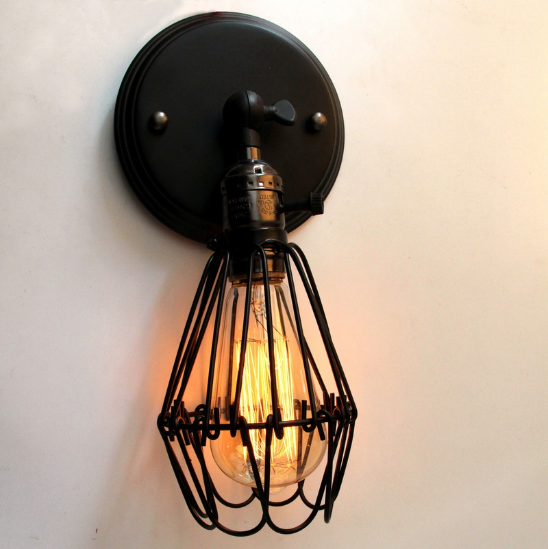 1 Piece/lot Retro Art For Home Decoration Wall Light Antique Vintage Adjustable Indoor Industrial Wall Lamp