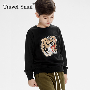 Travel snail  4-9 year boys clothes t-shirts or pants for kids hoodies for boys kids t-shirts for boys pants 2018 Spring New