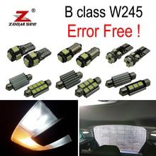20x светодиодный номерной знак лампы+ интерьер купола лампы Комплект для Mercedes-Benz класса B W245 B150 B160 B170 B180 B200(05-11
