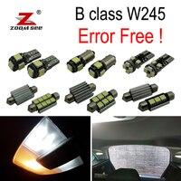 20x LED license plate bulb + interior dome lamp Kit For Mercedes For Mercedes Benz B class W245 B150 B160 B170 B180 B200 (05 11)