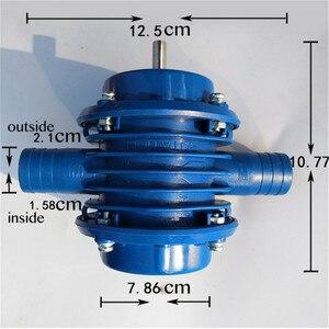 Image 5 - 25 50L/min משאבת מים חשמלי תרגיל עצמית מיני תרגיל משאבת 7mm עגול שוק DC שאיבה