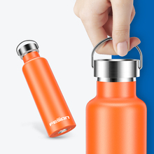 FEIJIAN 600ml Thermos bottle Portable Thermal cup Vacuum Flask Stainless Steel Insulation Drink Bottle Support Customization