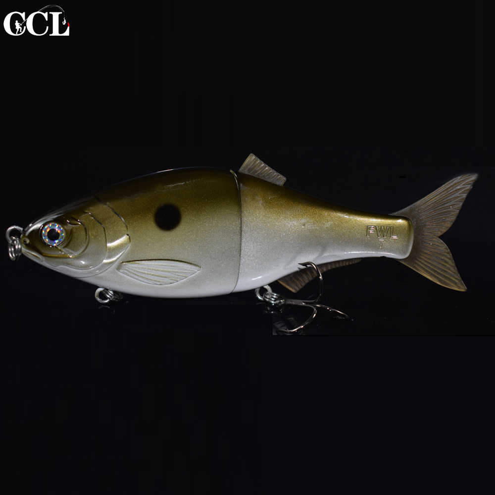 CCL Big Game 9 inch Shad Jointed Lures Swimbait Fishing Wobblers Floating and Sinking Bait Fishing Lures Wobbler Fishing