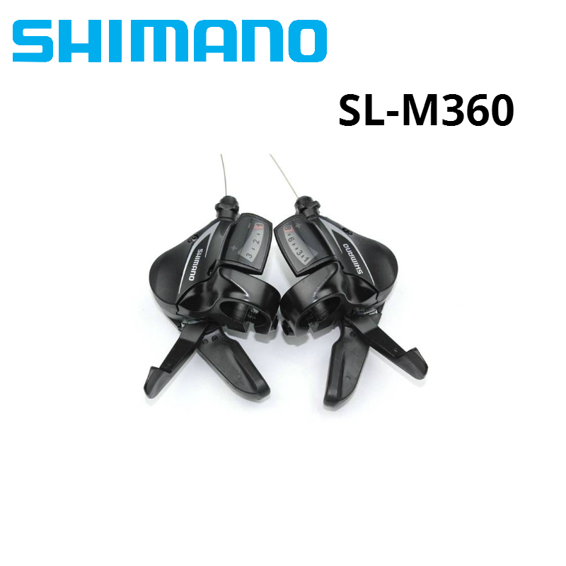 Shimano Acera SL-M360 3x8 speed mountain bike Shifters L3 x R8 24 Speed 24S MTB bicycle Trigger Shifter Lever SetShimano Acera SL-M360 3x8 speed mountain bike Shifters L3 x R8 24 Speed 24S MTB bicycle Trigger Shifter Lever Set