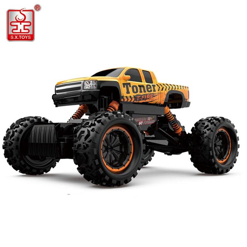 Sx. игрушечные лошадки RC автомобиль 4WD 2.4 ГГц Радио удалить Управление машин на Дистанционное управление 4 резиновая Колёса RC автомобилей 1:12 м...