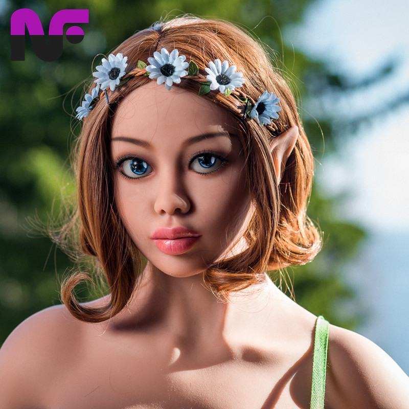Sex Dolls Obedient 170cm New Tan Skin Full Body Solid Sex Dolls Elf Ears,real Anime Adult Love Dolls For Men Vagina Pussy Fake Ass Sex Toys