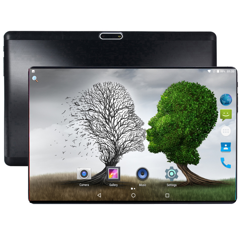 2019 Ultra Thin 10 Inch Tablet PC 3G 4G LTE Octa Core 4+64 GB Dual SIM Cards Android 8.0 GPS Tablet PC 10 10.1+Gifts