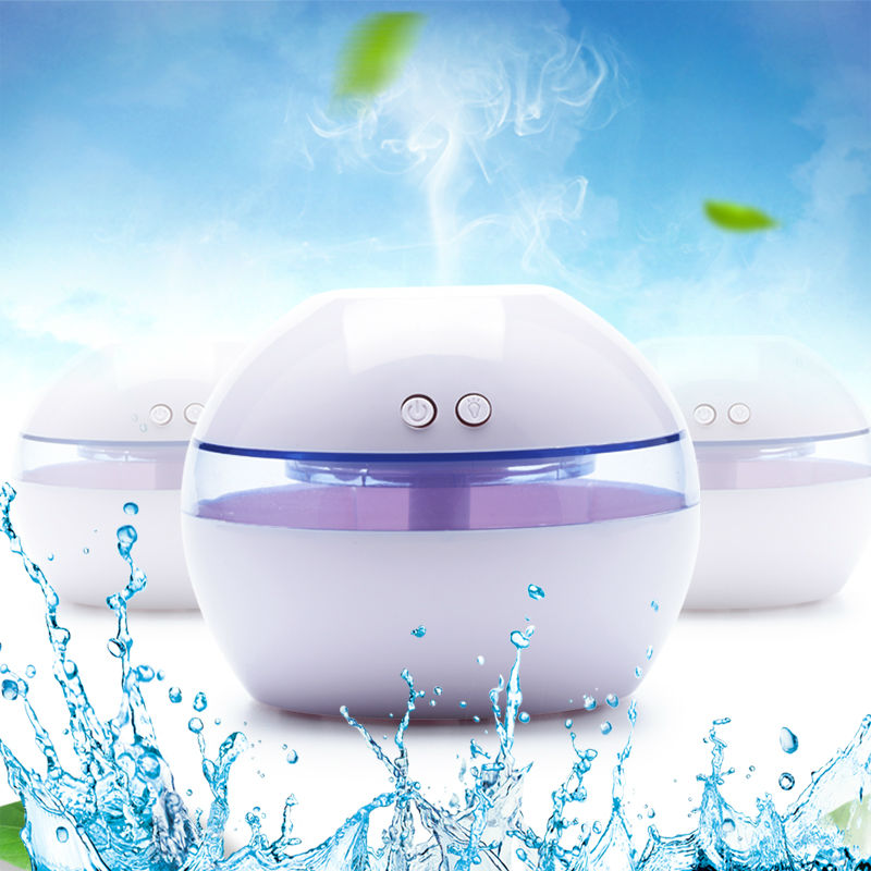 Mini USB Humidifier Ultrasonic Mist Maker Fogger With Color LED Lights For Office Home Umidificador 25mm 1 7mhz ultrasonic humidifier atomization fogger mist maker piezoelectric ceramic transducer film d25mm