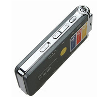 MOSUNXFutural Digital 8GB Audio Voice Recorder Portable Mp3 Player Rechargeable Dictaphone Telephone Music Player F20