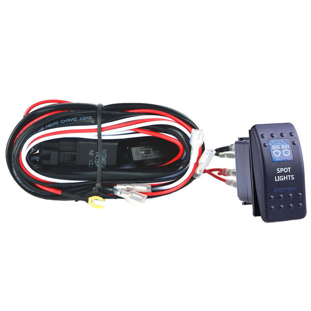 wiring harness support wiring diagram fascinating ee support 40a wiring harness kit led light bar rocker switch toggle ee support 40a wiring