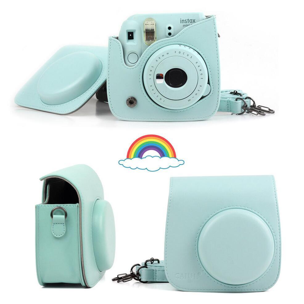 Fujifilm-Instax-Mini-Camera-Case-Bag-PU-Leather-Cover-with-Shoulder-Strap-For-Instax-Mini-9 (5)