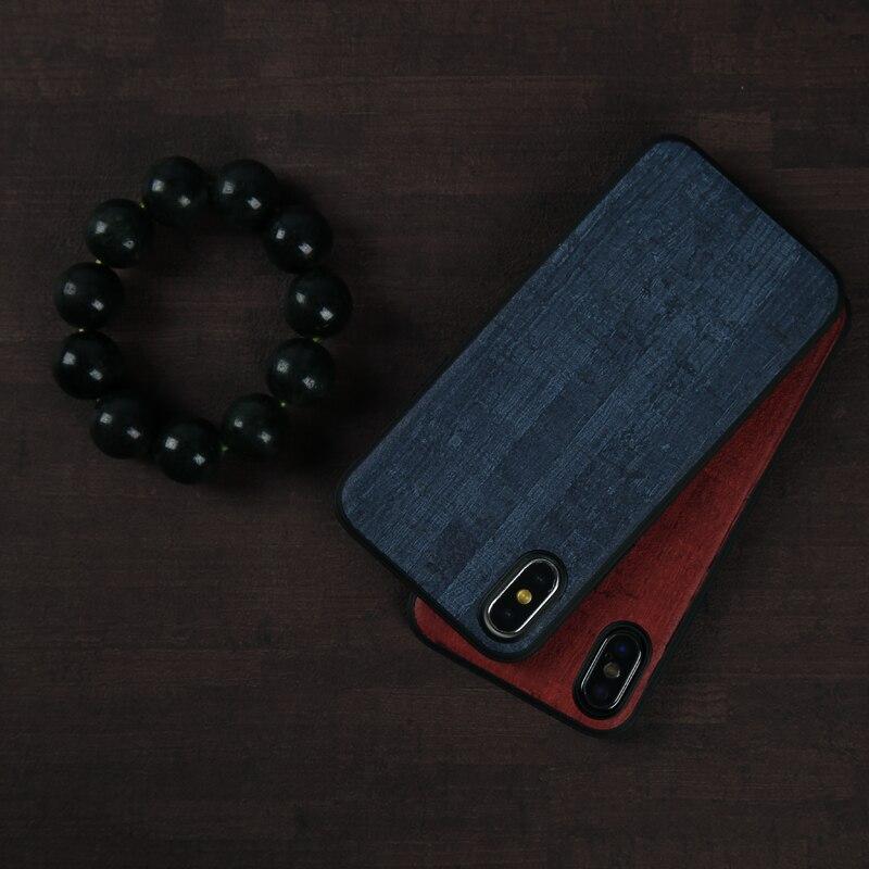 10 PS prix Bas Téléphone étuis pour iphone X Xs Max Couverture Bois grain PU Cuir TPU Silicone étui pour iphone 6 6 S 7 8 Plus Coque