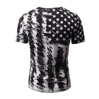 KD01 07 Fashion Brand Tshirt Men Women V Neck 3d T Shirt Print Skulls Roses Flowers
