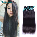 7A Malaysian Virgin Hair 4pcs Straight Human Hair weaves Virgin Malaysian Straight Unprocessed Malaysian Virgin Hair Straight