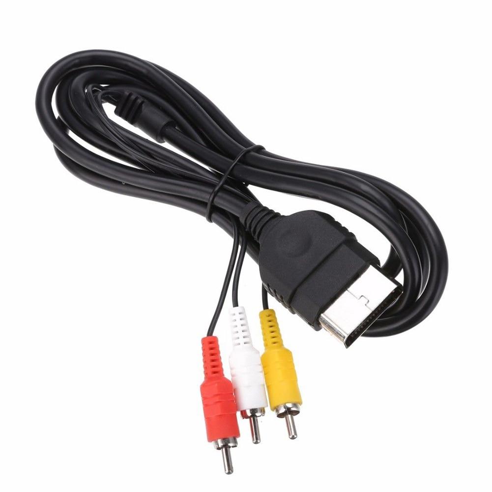 Аудио видео композитный кабель 6 футов/1,8 м AV патч-корд адаптер конвертер для xbox новое поступление