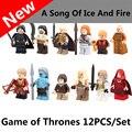 POGO PG932-943 Game of Thrones Minifig Jon Snow Khai Drago White Walker Ice and Fire Series minifig Model Toys birthday gift