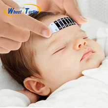 4Pcs Lot Forehead Head Strip Thermometer Fever Body Baby Child Kid Monitor Care Temperature New Hot