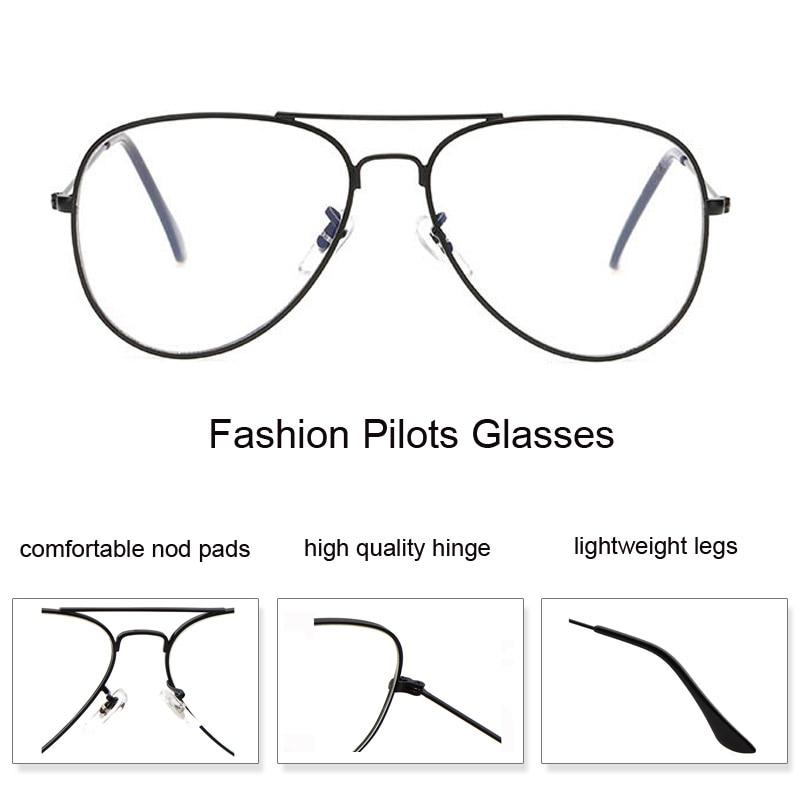 2019 Fashion Clear Glasses Women Optical Frames Myopia Lunette Female - Kläder tillbehör - Foto 3