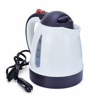 1000ml Car Hot Kettle Portable 12V Auto Tea Coffee Water Electric Heater Travel Kettle Kit for Auto Car